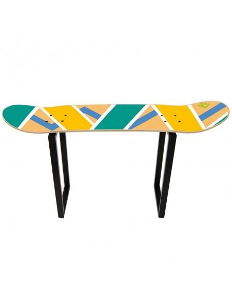 Banco de Skate Olliepops, Acid - Muebles de skate para habitación temática deportiva