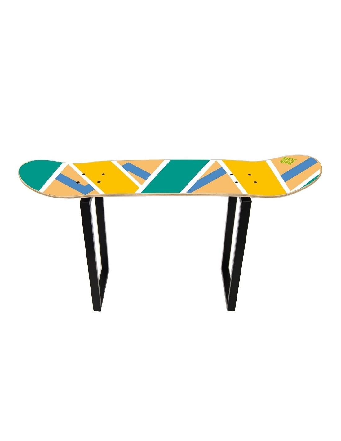 Bench of Skate Olliepops Skateboard furniture for sport ...