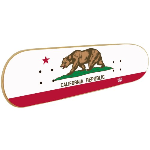 Meubles de skate, Art mural sur skateboard California