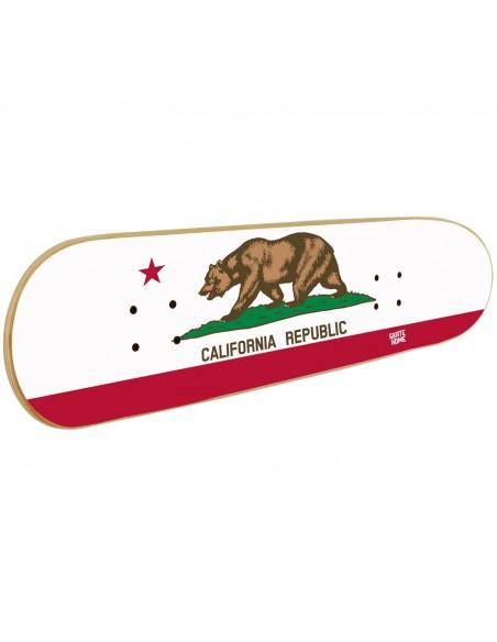 Skateboard Art Mural - California