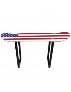 Hoher Hocker Skate, United States Flagge
