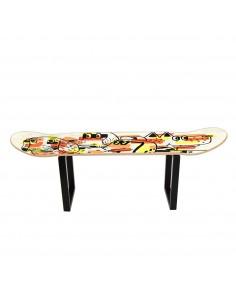 Skateboard tabouret bas Les chiens