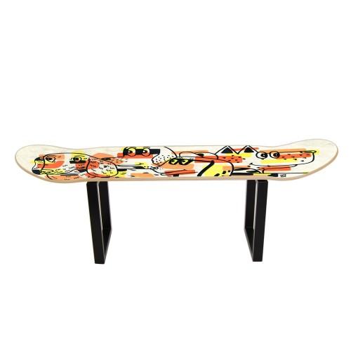 Skateboard stool low Dogs