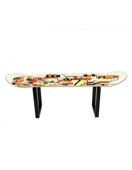 Skateboard tabouret bas: Les chiens