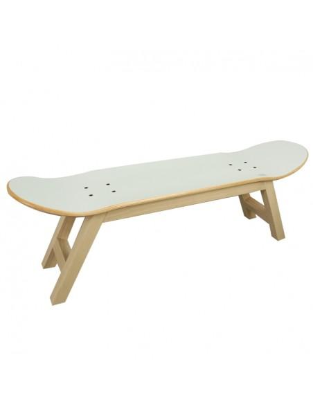Skate Taburete Nollie Flip, Nordico Blanco