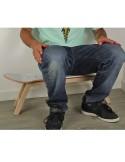 Skateboard stool foot rest Nollie Flip, White Nordic