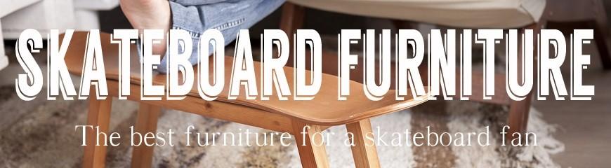 Ideas decoración para skater: Regalo skater muebles con skateboard ...