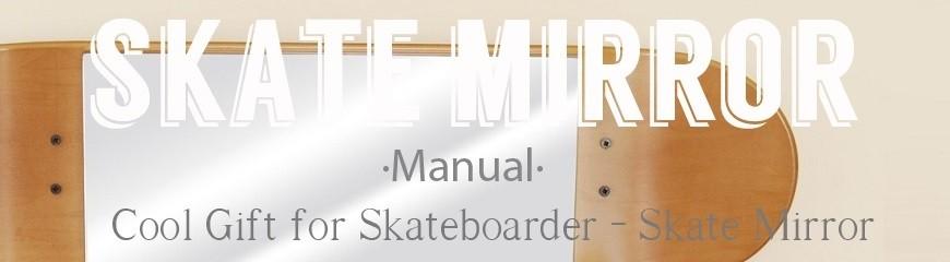 Skateboard Spiegel