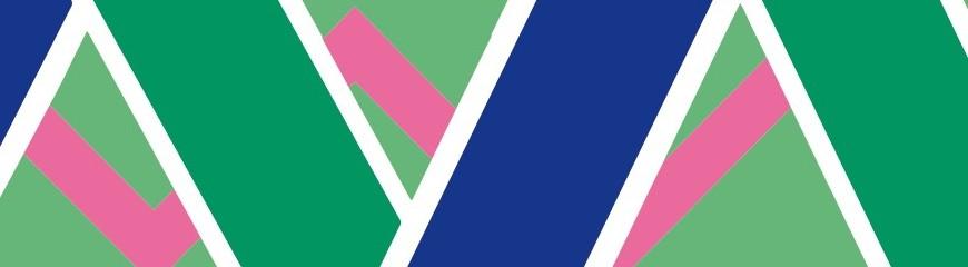 Azul y verde